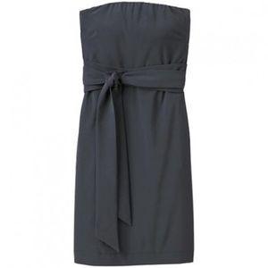 Athleta Anywhere Dress Black Strapless Size 16